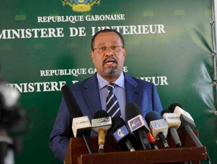 Guy Bertrand Mapangou, ministre gabonais de l'intérieur @DR