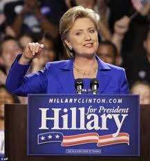 Hillary Clinton....
