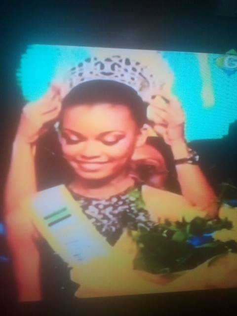 L'ex Miss Nyanga devenue Miss Gabon 2015
