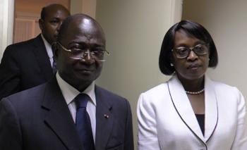 Dr Matshidiso Rebecca Moeti et Paul Biyoghe Mba @ Gabonactu.com
