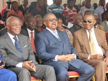Une vue des leaders présents à la convention @ Gabonactu.com