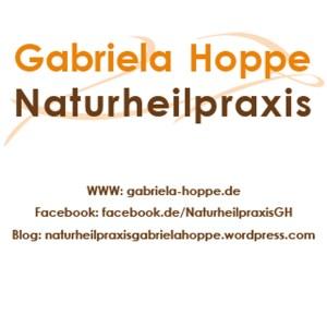 Kontaktinfos Naturheilpraxis Gabriela Hoppe