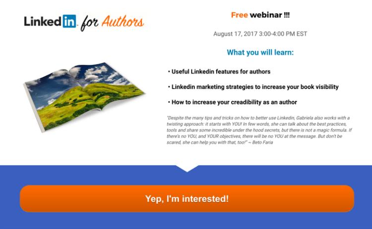 Linkedin for Authors