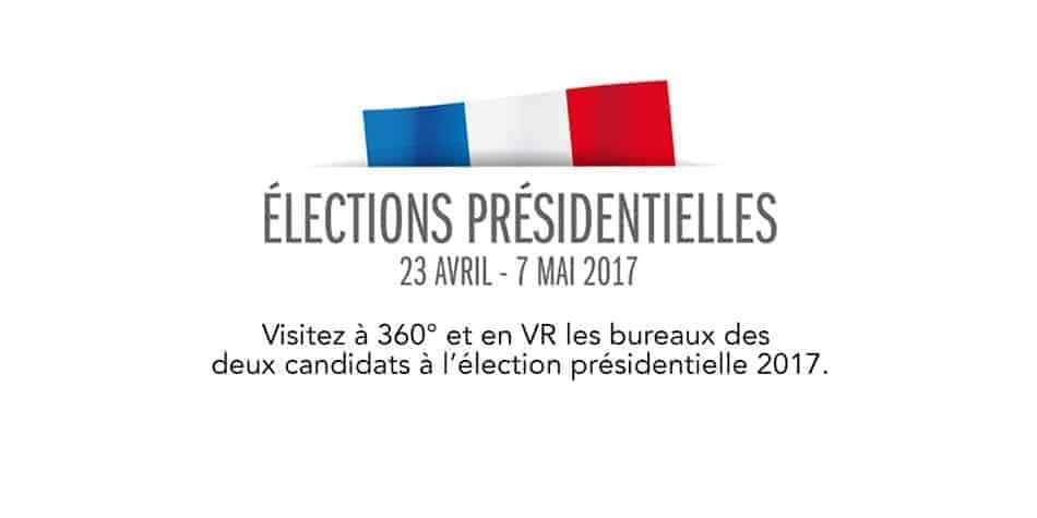 visite virtuelle des bureaux des candidats finalistes de l'election présidentielle 2017