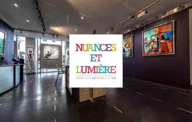 Visite virtuelle galerie nuances et Lumière