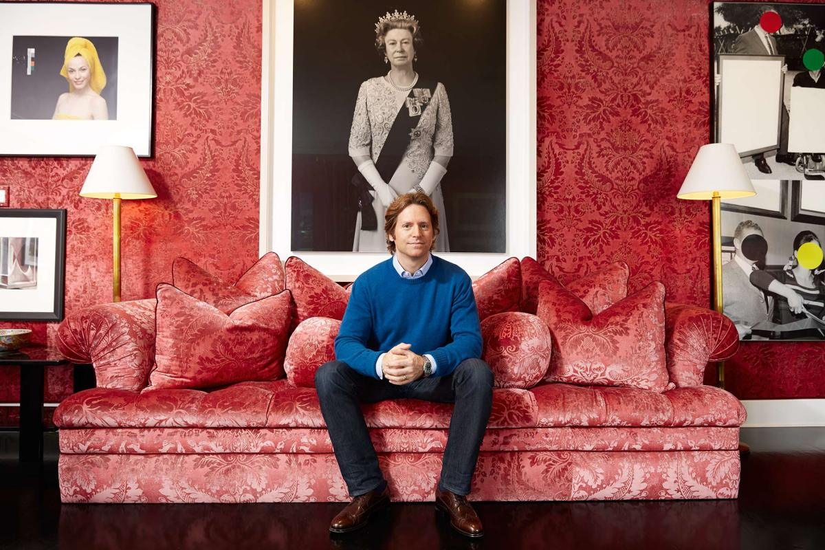 Trevor Traina at home in San Francisco for Forbes magazine.