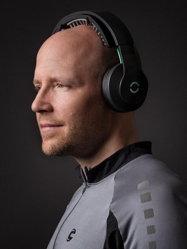 Halo Neuroscience co-founder, Brett Brett Wingeier, for IEEE magazine.