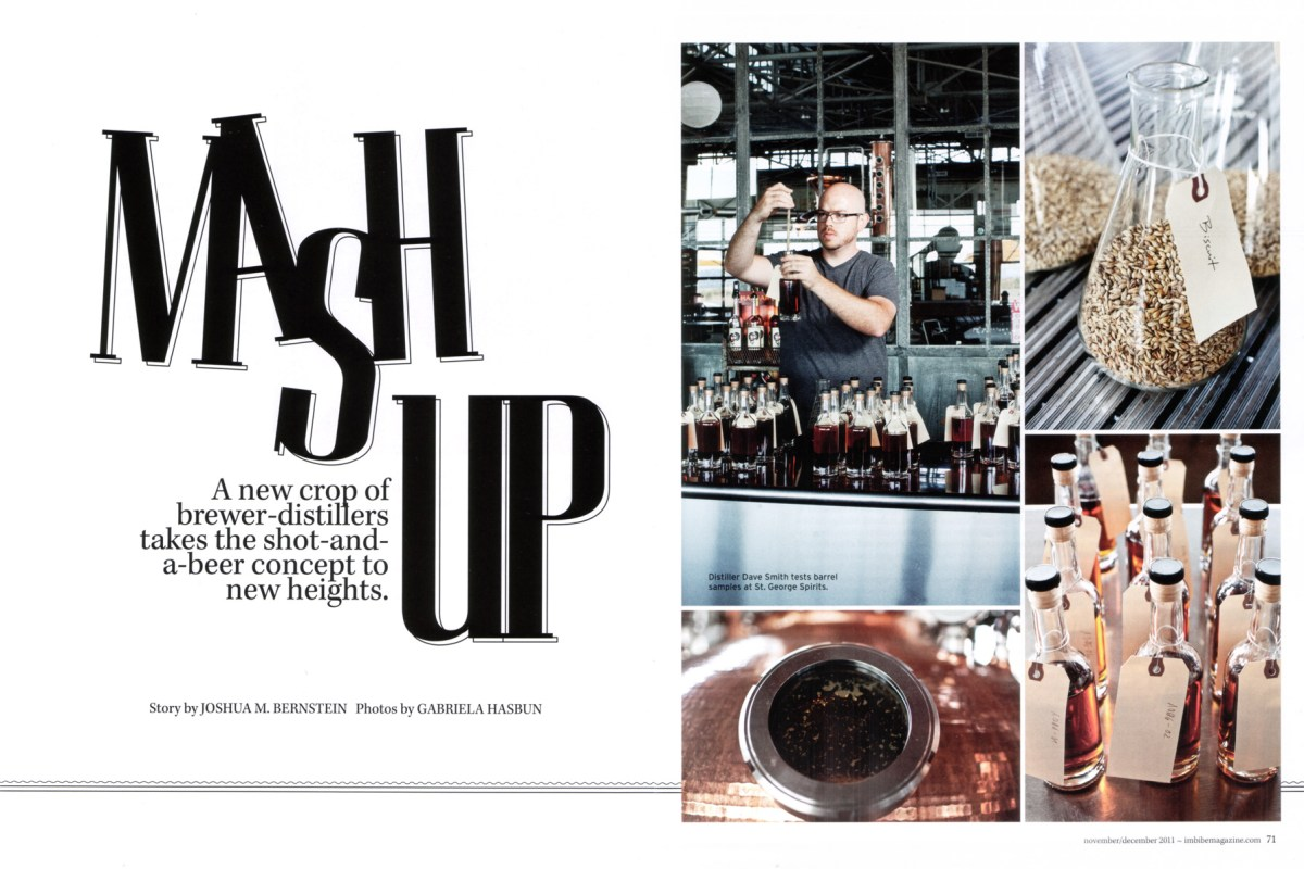 St. George Distillery for Imbibe magazine.