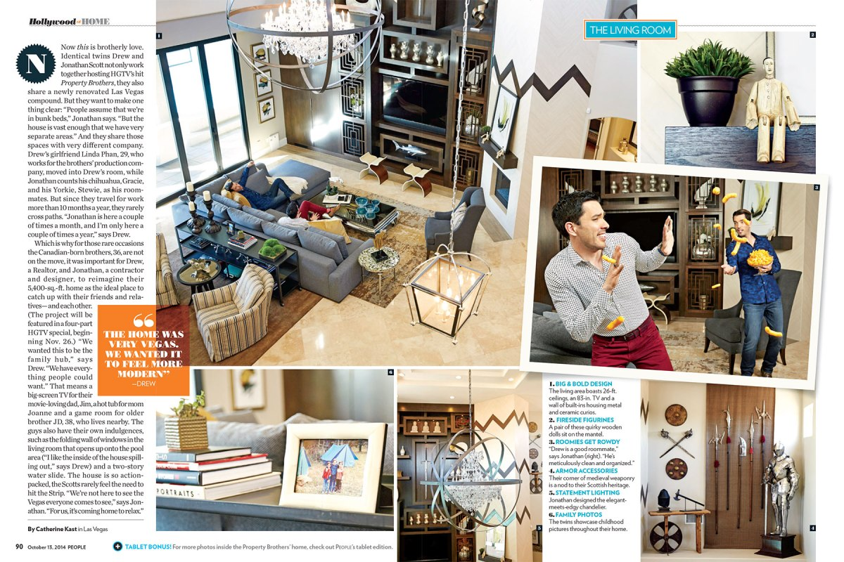 Property Brothers for People Magazine.