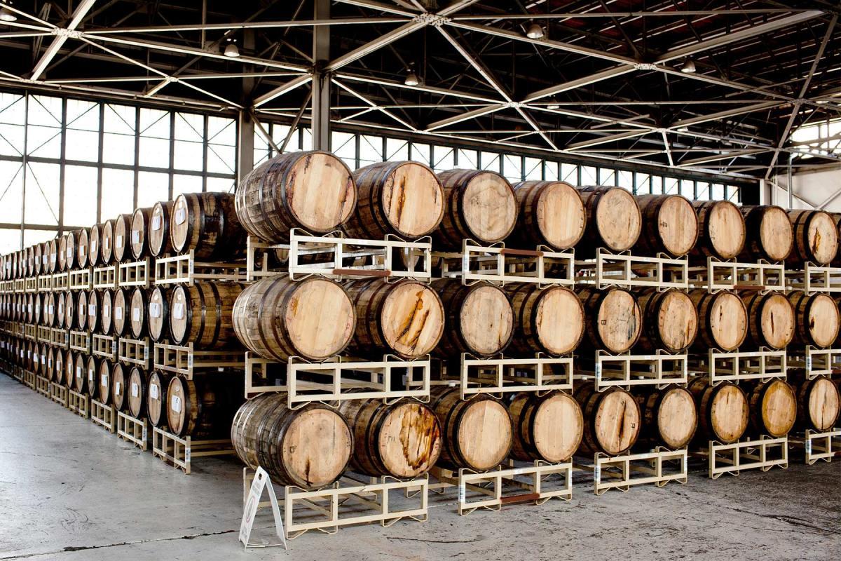 St. George Spirits Distillery in Alameda, California.