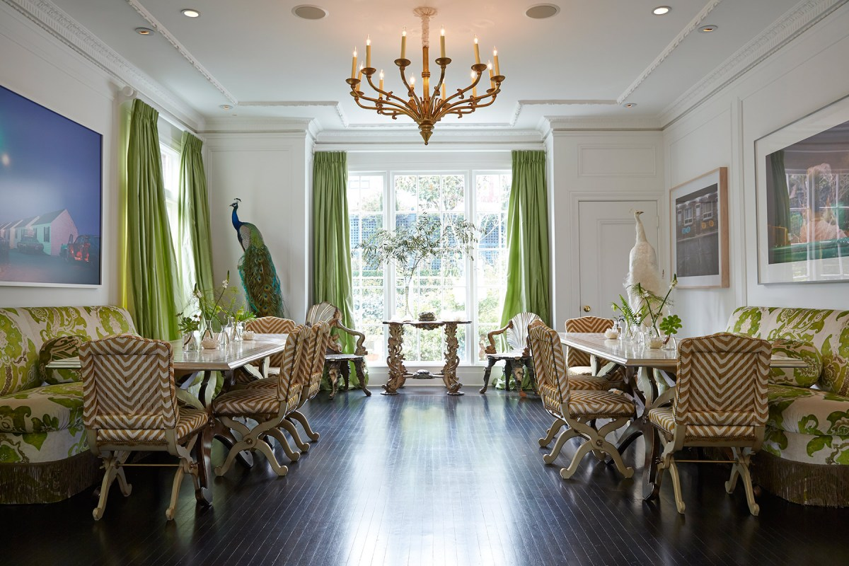 Traina home in San Francisco for Forbes magazine.