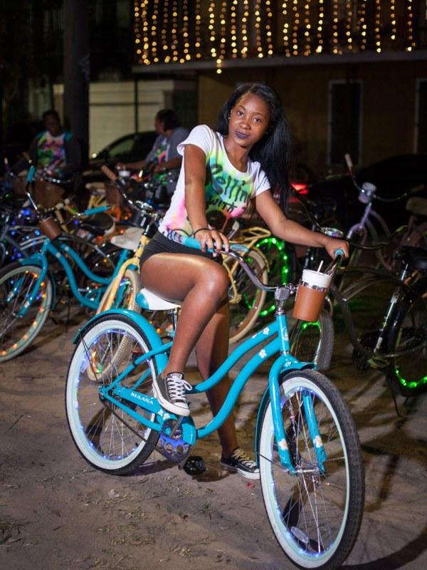 Bikes. Esplanade Avenue, New Orleans. 2016