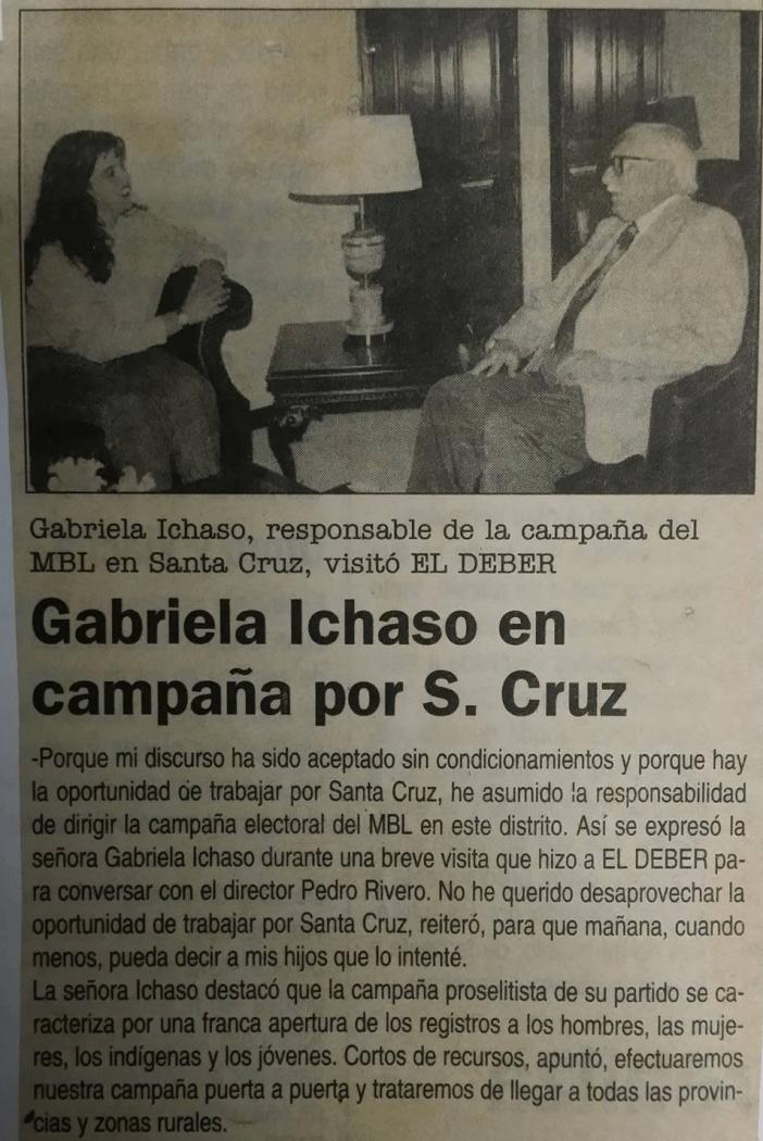 El Deber, 1997