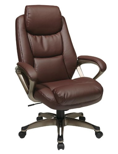 executive brown leather office chairs round wicker chair best ergonomic heavy duty for big people!