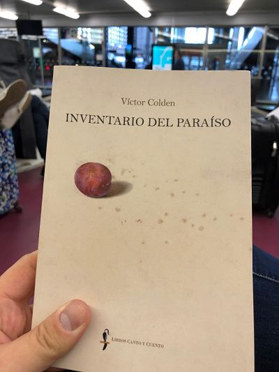 Inventario del paraíso. Víctor Colden