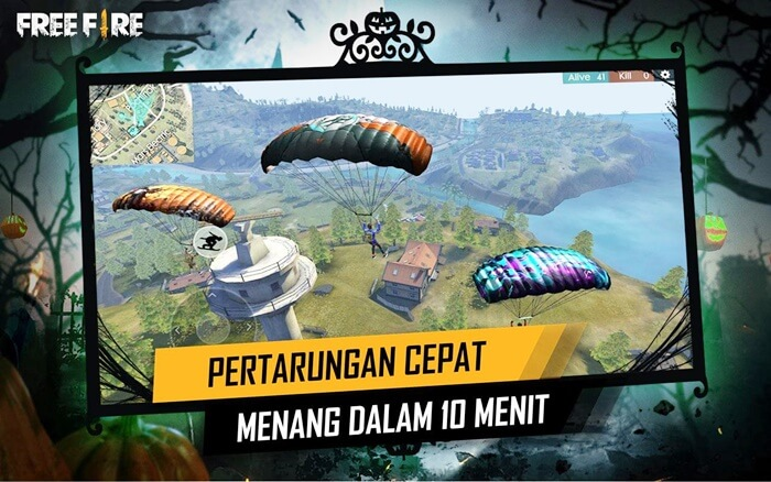 Game Free Fire Mod APK No Root