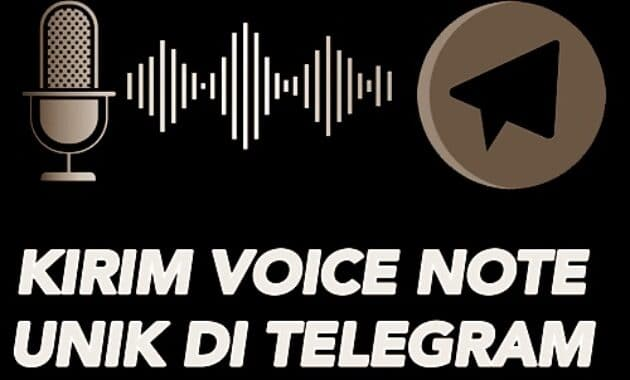 Cara VN di Telegram