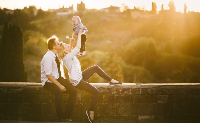 Italian Vacation Family Photographer In Tuscany Near Florence