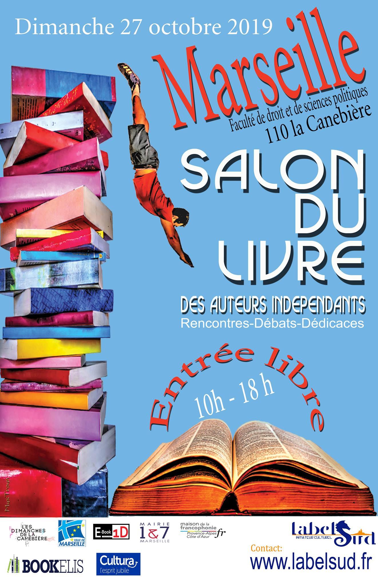 salon du livre marseille 2019