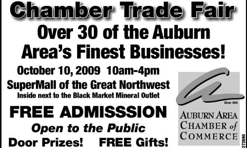 Auburn, Washington Chamber of Commerce Trade Fair