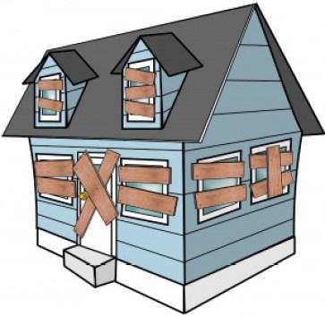 houseboarded