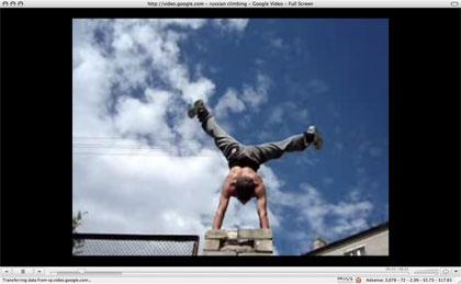Awesome Russian climbing / scrambling video