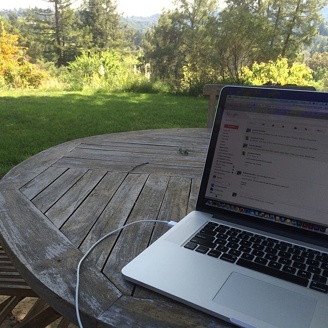 Afternoon office