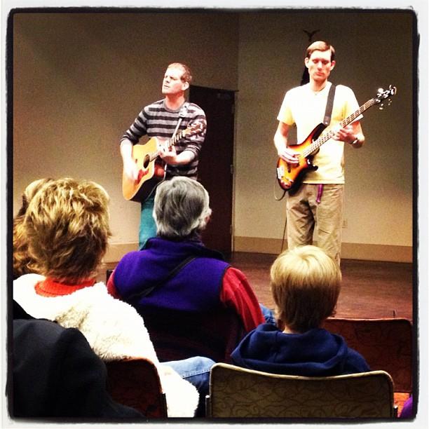 Alex Cook and Ben Vaughn concert