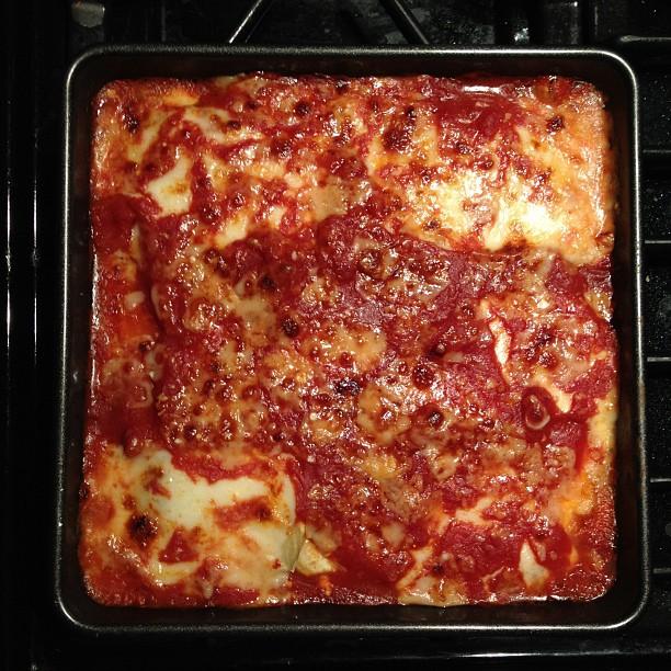 Amazing homemade eggplant lasagne