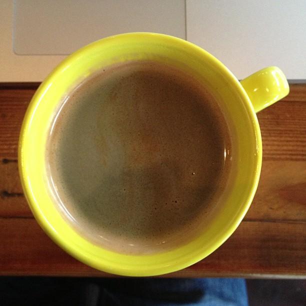An Actual Americano (at Actual Cafe) :)