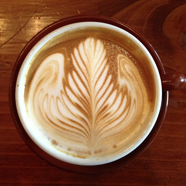 Angel wings latte - Local 123