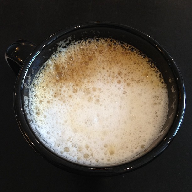 Another cuppa latte
