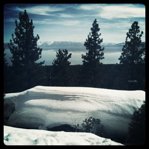 Awesome view of Lake Tahoe