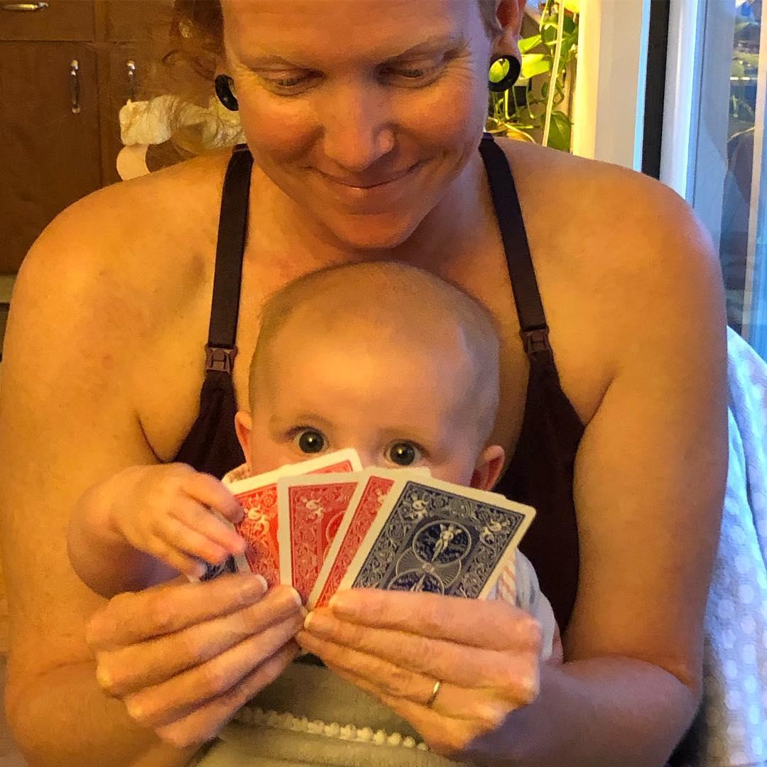Family cards night :)