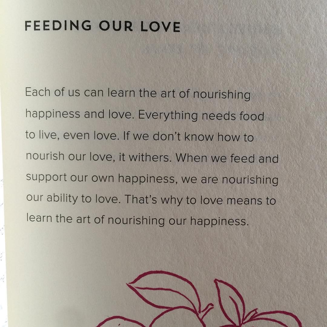Feeding our love