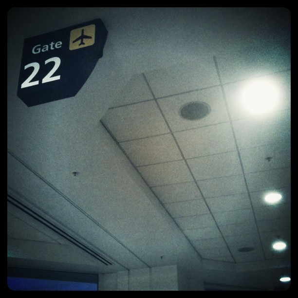 Gate 22 is a good gate. BOS here I come :)