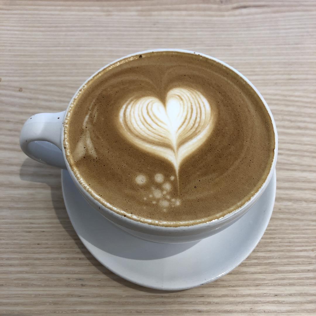 Gorgeous latte @bluebottle