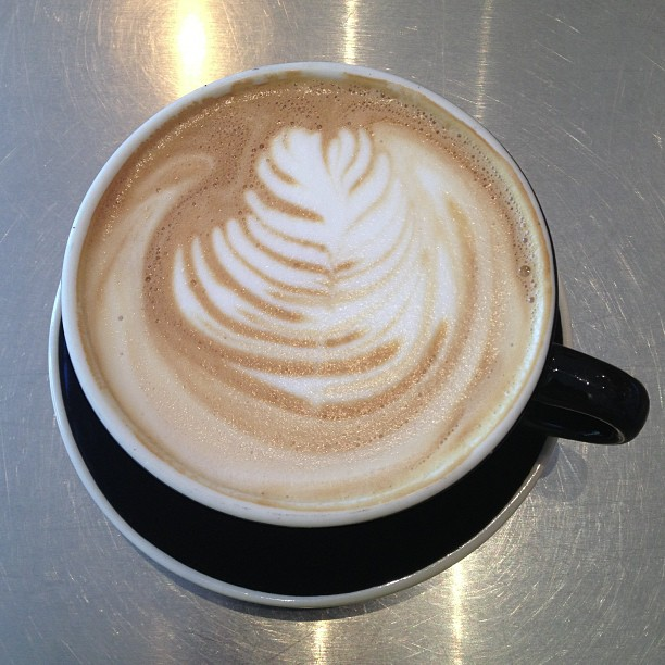 Mixing it up latte