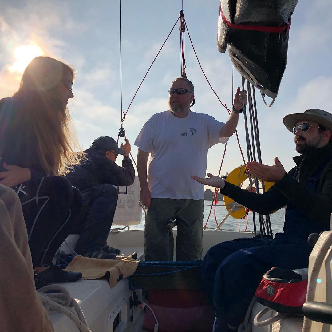 On Ahi for OYRA Drakes Bay race