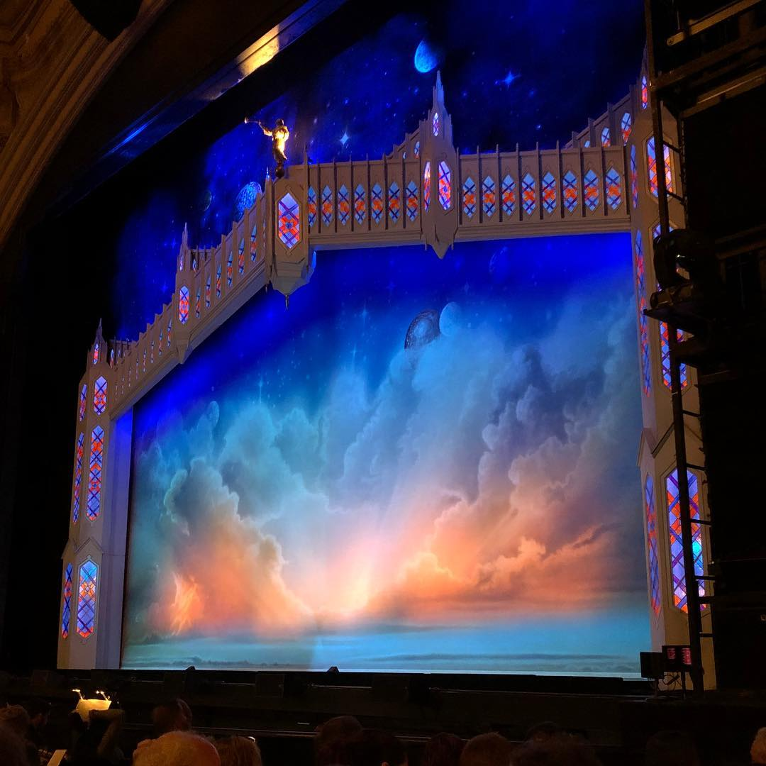 Seeing The Book of Mormon at the Orpheum w/ the lady