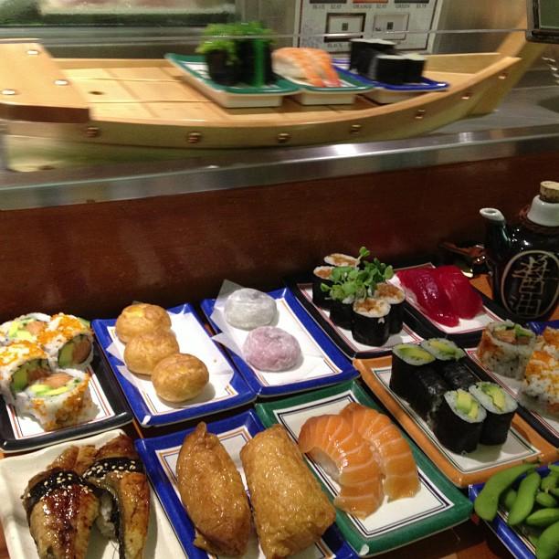 Sushi boats!