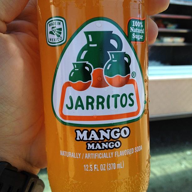 Taco truck Jarritos