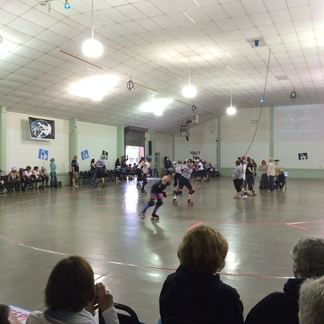 The Tsunami Sirens vs the Wine County Home Wreckers. Having a great birthday adventure.