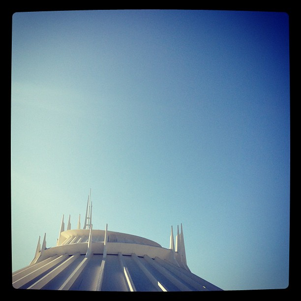 Waiting for Space Mountain