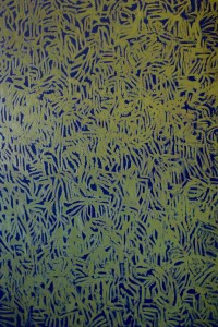 Gabriel Truan st 1 acrílico sobre tela 146 x 97 cm serie 4 telas para 1 asiento 2007