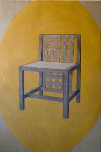 Gabriel Truan st 4 acrílico sobre tela 146 x 97 cm serie 4 telas para 1 asiento 2007