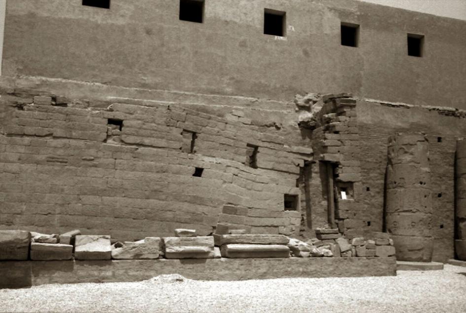 Gabriel Truan el viaje de un 30x20 cm templo luxor Egipto 1992