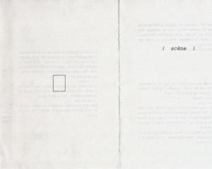 Gabriel Truan libro la escena impresion ordenador a4 cortado 1990