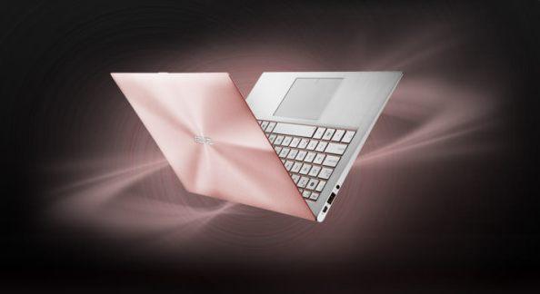 Asus ZenBook Rose Gold - poza 1