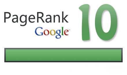 Siteuri cu PageRank 10